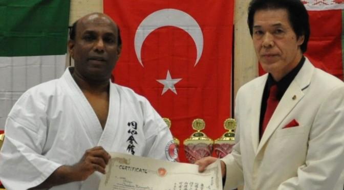 Erfolgreiche Europameisterschaft 2014 im Enshin Karate!