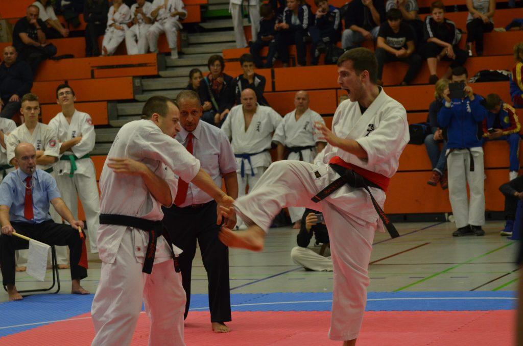 Europameisterschaft 2017 im Enshin Karate: Schwergewichtfinale