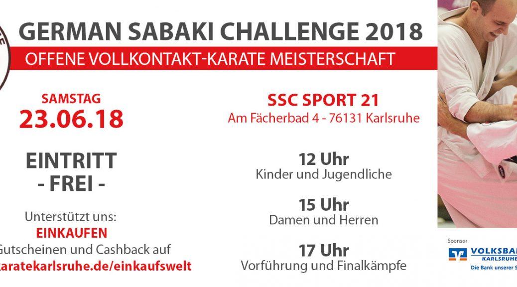 Deutsche Meisterschaft im Enshin Karate 2018