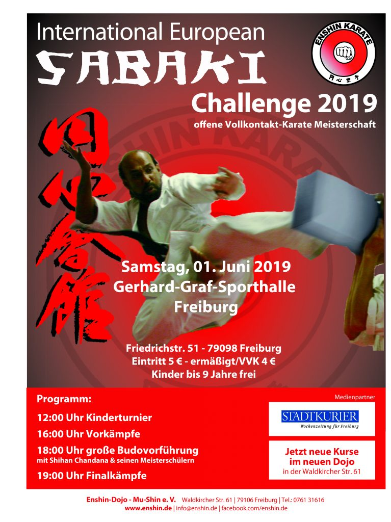 International European Sabaki Challenge 2019 Plakat