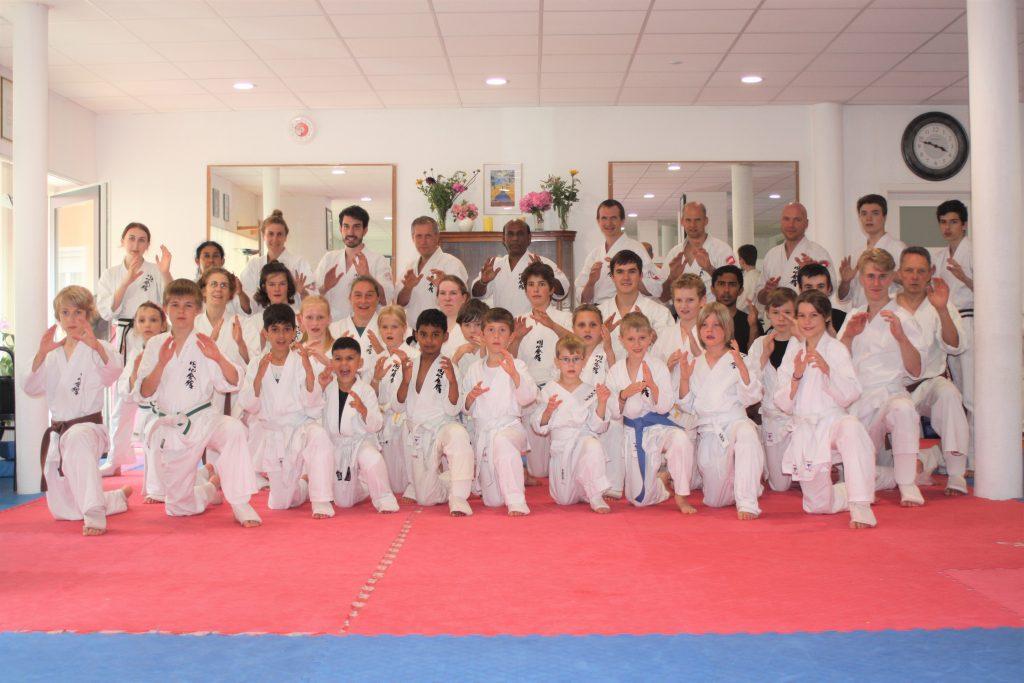 Enshin Karate Lehrgang in Freiburg - Basics, Kumite und Kata, Kinder und Erwachsene mit Prüfung