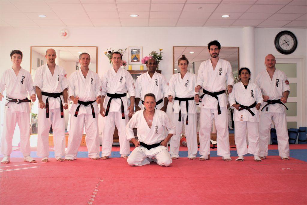 Schwarzgurtprüfung Enshin Karate bestanden: Markus Friedmann aus Karlsruhe